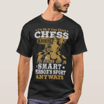 Sport For Smart People - Hot Chess T-shirt