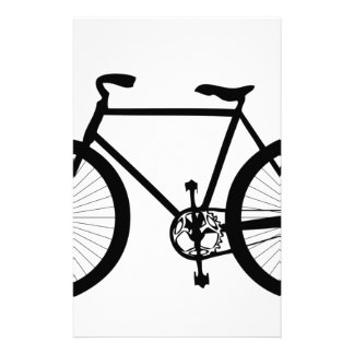 Sport, Hobby, Fun, Ride Bicycle Customized Stationery
