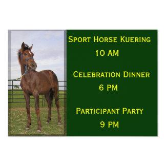 Sport Horse Kuering Card