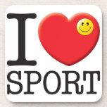 Sport Love Drink Coasters