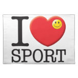 Sport Love Placemats