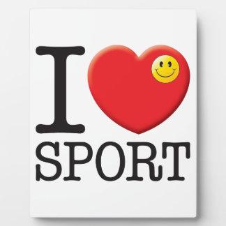Sport Love Display Plaque