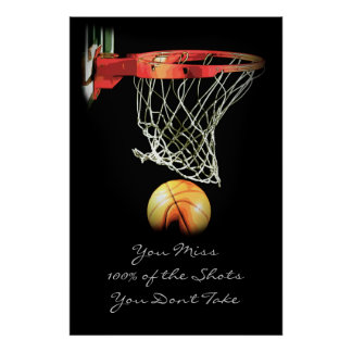 basketball quotes posters zazzle