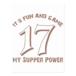 Sport Number17 Designs Postcard