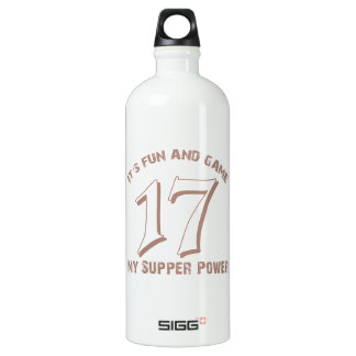 Sport Number17 Designs Water Bottle