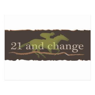 sport of kings 21 and change.ai postcard