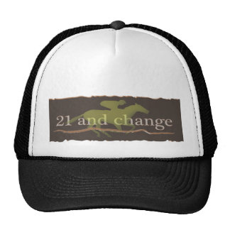 sport of kings 21 and change.ai trucker hat