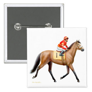 Sport of Kings Race Horse Pin
