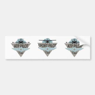 Sport Pilot Club Bumper Sticker