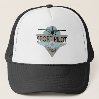 Sport Pilot Club Trucker Hat