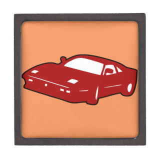sport race car keepsake box