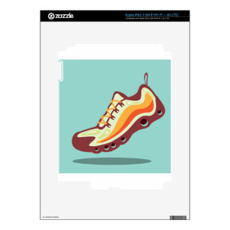 Sport Running Shoe iPad 3 Decals