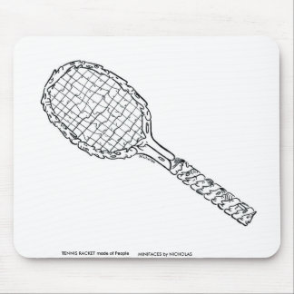Sport Series - Tennis Racket Mouse Pad