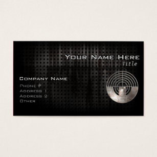 Sports business cards templates zazzle sport shooting cool business card colourmoves Image collections