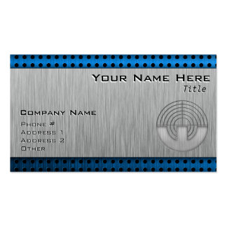 Sport Shooting; Metal-look Double-Sided Standard Business Cards (Pack Of 100)