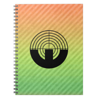 Sport Shooting Spiral Note Books