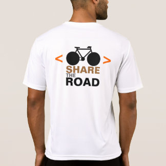 sport sign respect cyclists T-Shirt