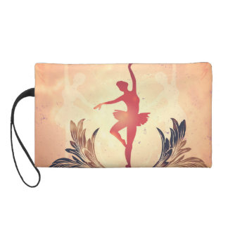 Sport, Silhouette ballet dancer Wristlet