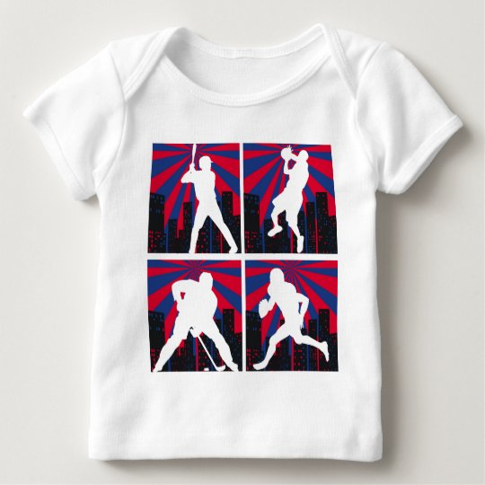 Sport Silhouettes Baby T-Shirt