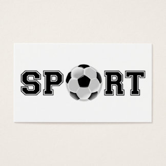 Sport (Soccer) Business Card