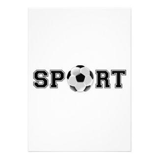 Sport (Soccer) Announcement