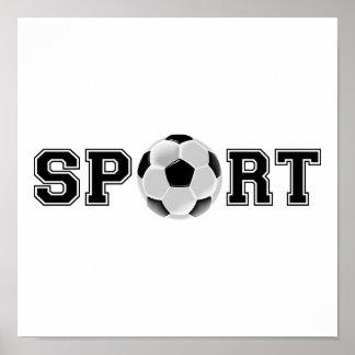 Sport (Soccer) Poster