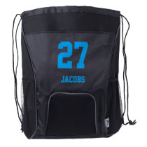 Sport Style | DIY Name and Number Drawstring Backpack