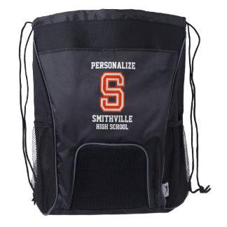 Sport Style | Sport Letter S Drawstring Backpack
