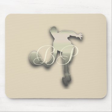 Beach Themed Sport Tennis Star Beige Add Text Mousepad