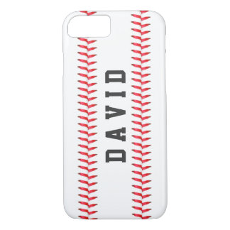 Sport Theme Baseball Stitching All Star Name iPhone 8/7 Case