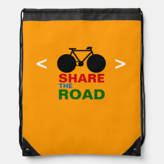 sport theme respect cyclists backpack