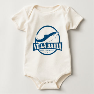 Sport Villa Bay Fishing Club Baby Bodysuit