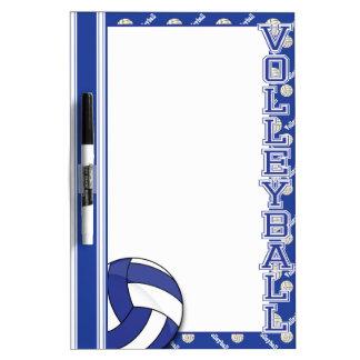 Sport Volleyball | Dark Blue Dry Erase Whiteboards