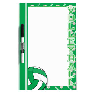 Sport Volleyball | Green Dry-Erase Whiteboards