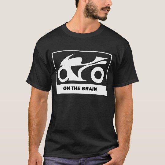 Sportbike en el cerebro playera