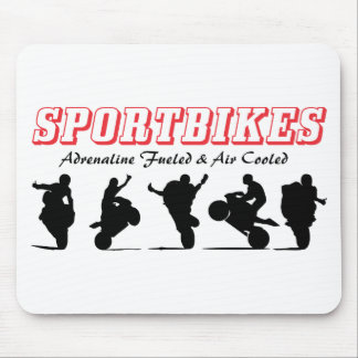 Sportbikes Mouse Pad