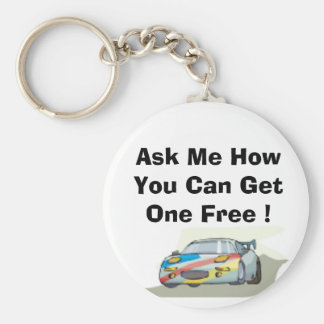 sportcar, Ask Me How You Can Get One Free ! Keychain