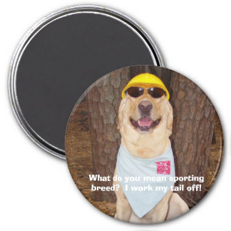 Sporting Breed? Magnet