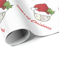 Sporting Christmas Golf Wrapping Paper