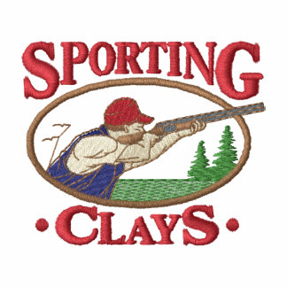 Sporting Clays Embroidered Hoodie