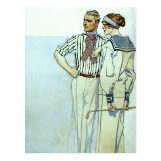 Sporting Clothes Postcard