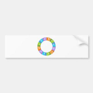 Sporting Event Wheel Bumper Sticker