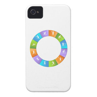 Sporting Event Wheel iPhone 4 Case-Mate Case