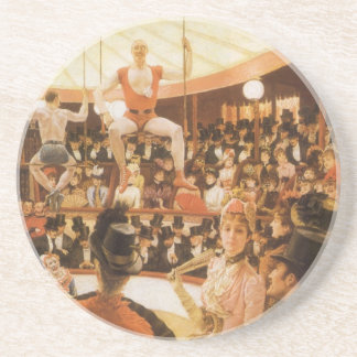 Sporting Ladies (aka Circus Lover) by James Tissot Coaster