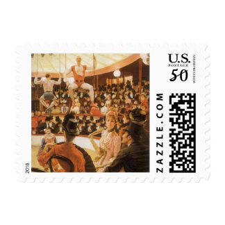 Sporting Ladies (aka Circus Lover) by James Tissot Postage