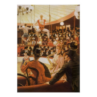 Sporting Ladies (aka Circus Lover) by James Tissot Poster