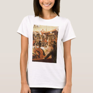 Sporting Ladies (aka Circus Lover) by James Tissot T-Shirt