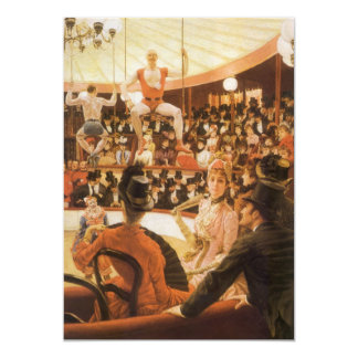 Sporting Ladies (or Circus Lover) by James Tissot Invites