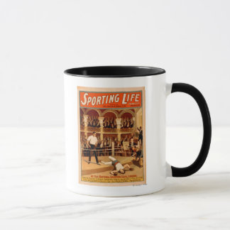 """Sporting Life"" Boxing Theatrical Play Poster Mug"