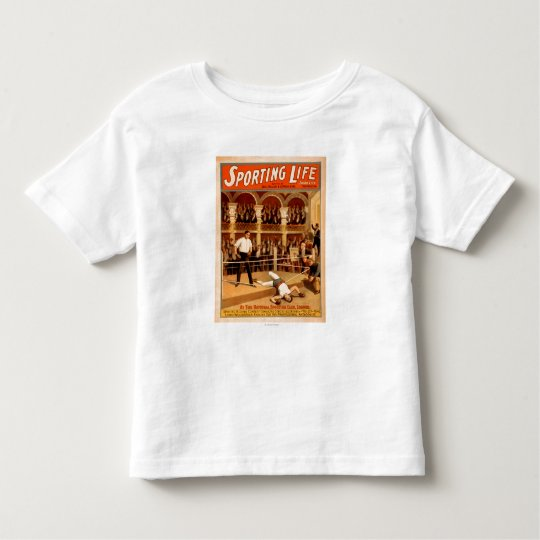 """""""Sporting Life"""" Boxing Theatrical Play Poster Toddler T-shirt"""